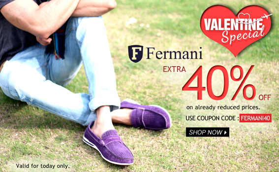 Bestylish: Fermani shoes at 50% off + extra 40% off